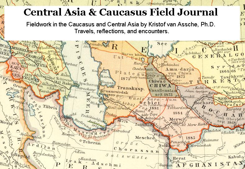 Central Asia & Caucasus Field Journal
