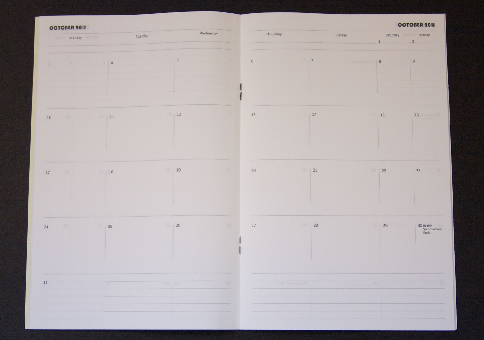 2011 Fenner Paper Diaries   Out Now!  Diary Paper Printable