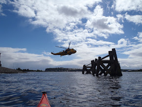 Sea King Rescue Helicopter, Cardiff Bay
