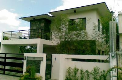 Modern Zen House Design In Quezon City - House design real