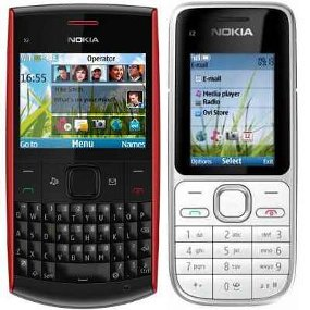 M3 TOP BLOG Nokia C2 01 Amp X2 01 HP Specification
