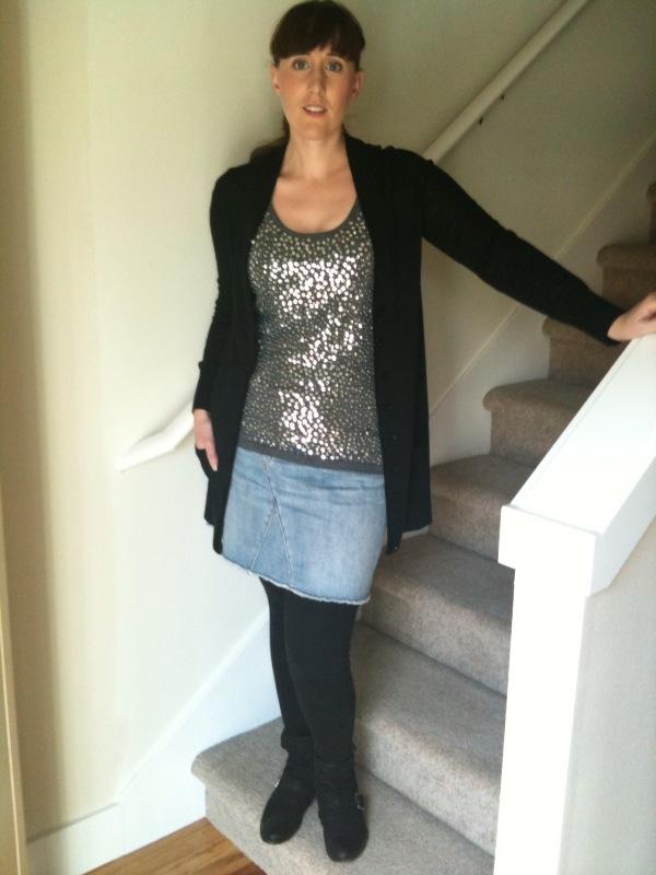 Jean Skirt With Leggings Hot Girls Wallpaper