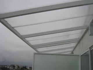 rym cristales arquitectonicos techo de policarbonato con estructura de aluminio. Black Bedroom Furniture Sets. Home Design Ideas