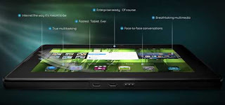 BlackBerry PlayBook Specification graphics