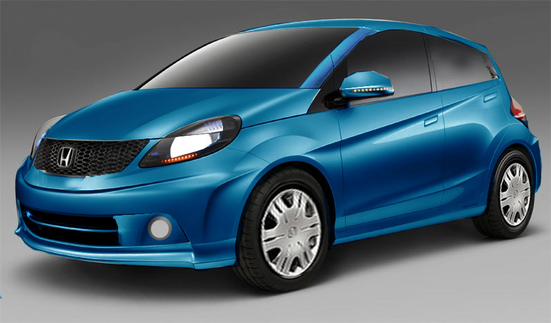 Honda brio hatchback series is being offered only in a petrol honda