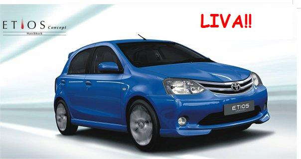 Toyota Etios Sedan Specifications. The new Toyota Etios Liva was
