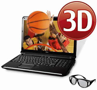 Fujitsu LIFEBOOK AH572 3D laptop images