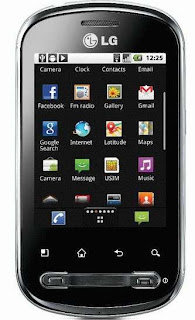 LG Optimus Me P350 Froyo Smartphone images