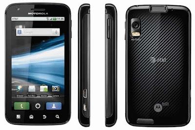 MOTOROLA ATRIX 4G Smartphone images