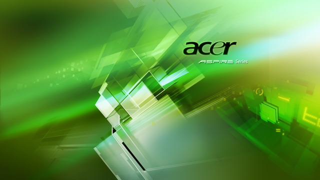 acer wallpapers. Acer Aspire Green Wallpaper