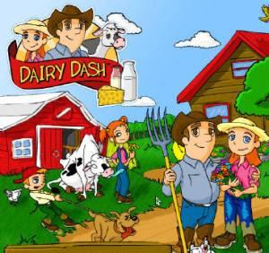دانلود بازی سرعت عمل در تولید لبنیات Dairy Dash  FuN2Net.MiHaNbLoG.CoM