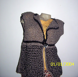 chaleco  de lana ( sarga)