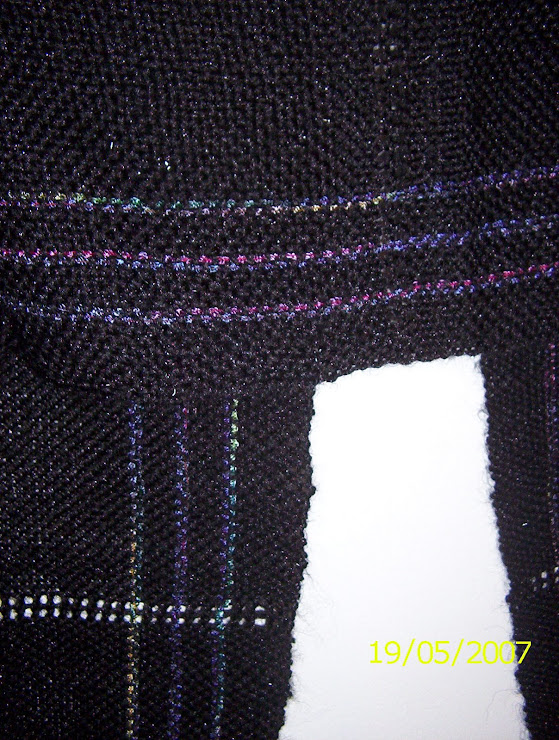 Tejido en un telar de cintura
