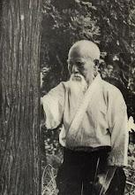 Ueshiba Sensei - Aikido Founder