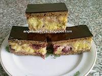 Meggyes sütemény - Konyakmeggyes szelet recept