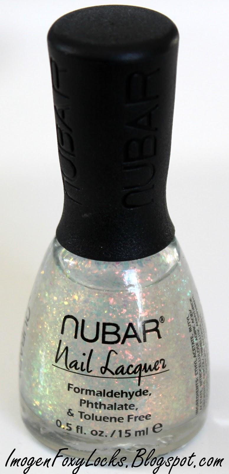 Imogen Foxy Locks Nubar 2010 Top Coat Swatches Review