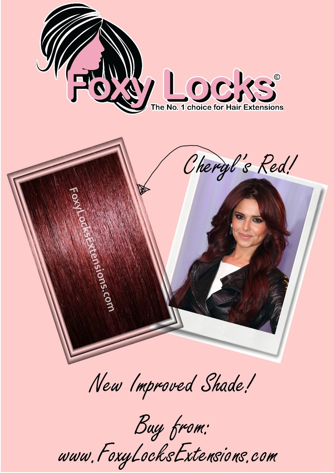 Imogen Foxy Locks Mahogany Red New Foxy Locks Extensions Colour