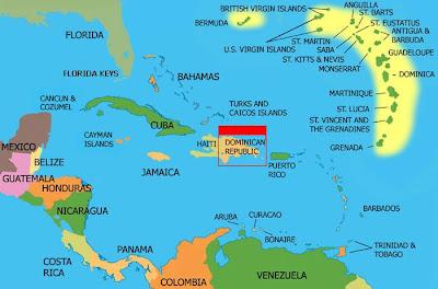 A Caribbean Girl Dominican Republic Location - Where is the dominican republic located
