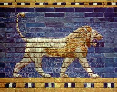 la bella joya margie and me winged lions of the ishtar gate