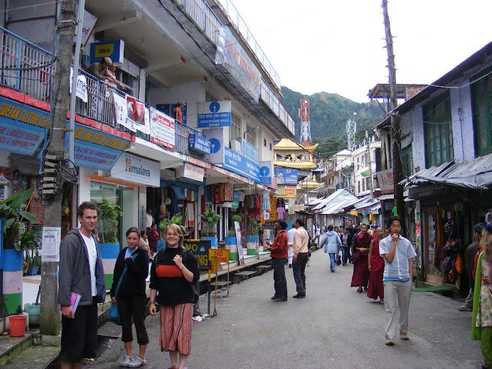 Dharamsala mit Andrew