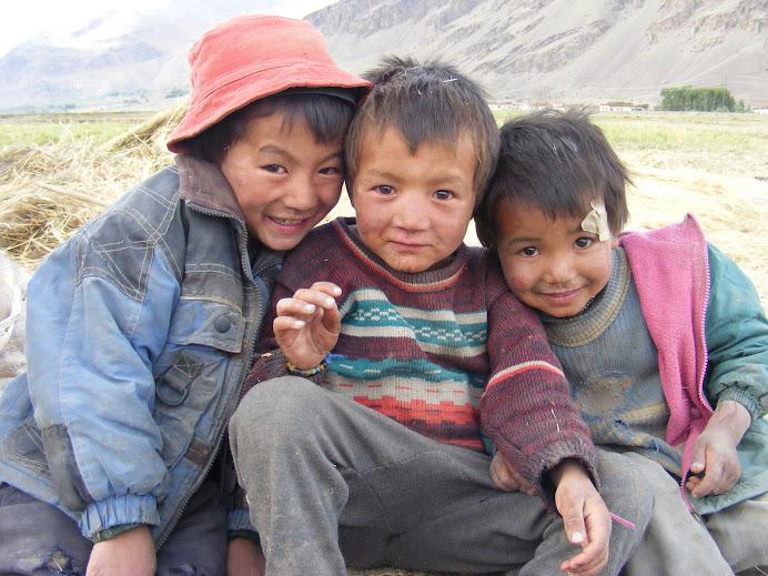 die kids von sonam-uncle