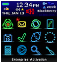 blackberry themes bold - Neon Express Theme