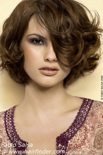 Short Fine Hair Perm