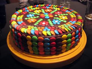 Entre panes y tortas a pedido de muchos fans la receta for Tortas decoradas faciles