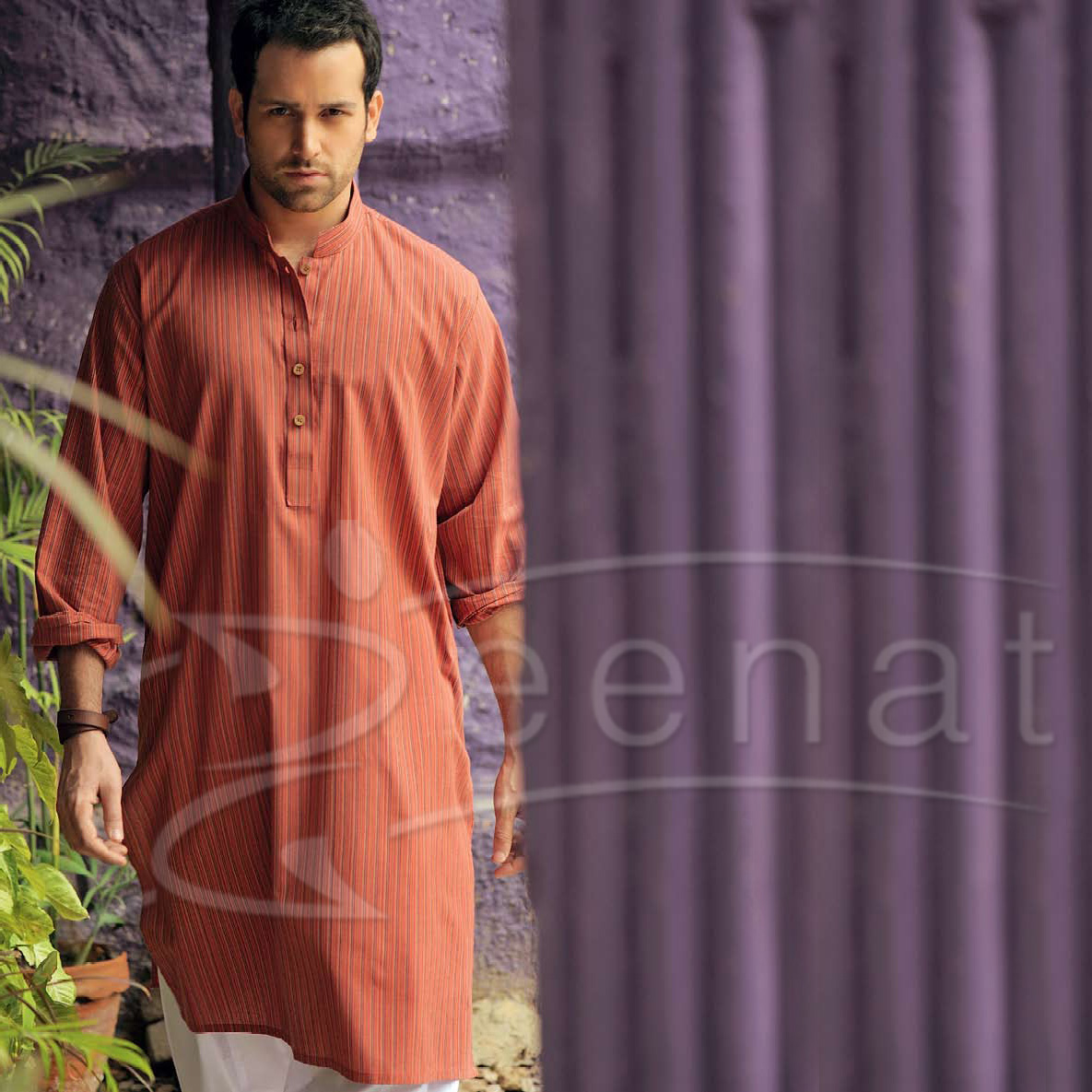 Abdullah Ejaz In Kurta Salw - Dress Of Teh DAy 11th May 2o12