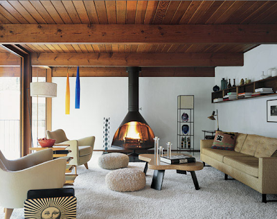 Scandinavian Interior Design on Scandinavian Retreat  Retro Cabin