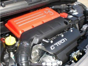 G-Tech Abarth Fiat 500 RS S Engine