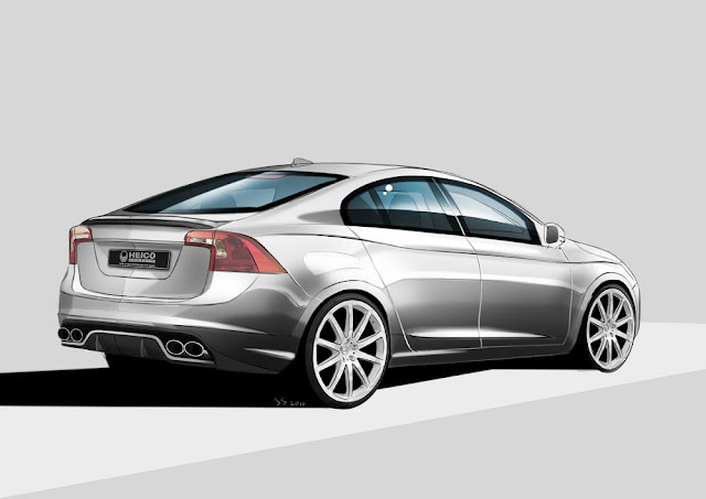 Volvo S60 Aerodynamic Kit