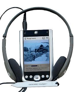 szenografie, media guide, museum, multimedia, audioguide