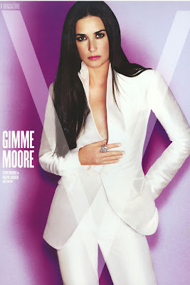 Demi Moore will do a strip tease for us on screen again