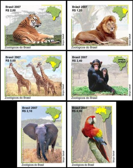 coleçao de selos