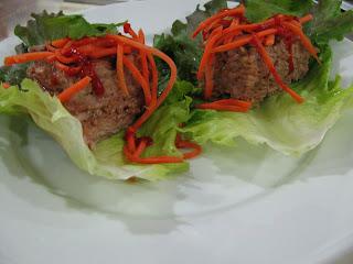pork sausage ssam