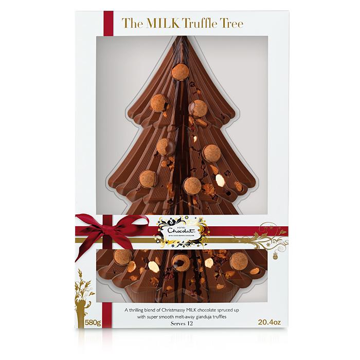Chocolate Christmas Tree Decorations Asda : Hotel chocolat giveaway tinned tomatoes