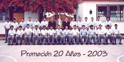 Promoción 2003