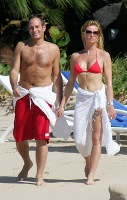 Nicolette Sheridan Bikini Picture and Michael Bolton