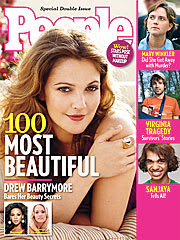 Drew Barrymore Tops 100 Most Beautiful People