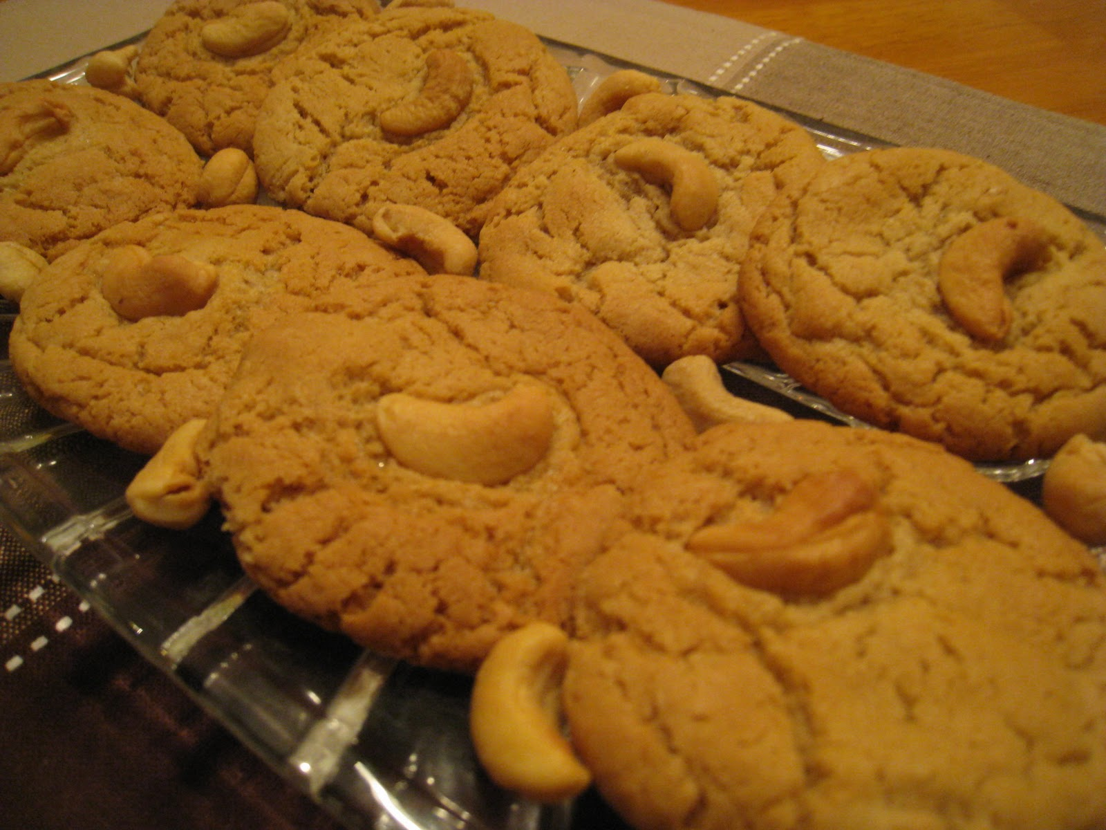 Own Your Food: Cashew Butter Cookies