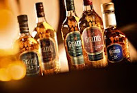 the grant's blended whisky range