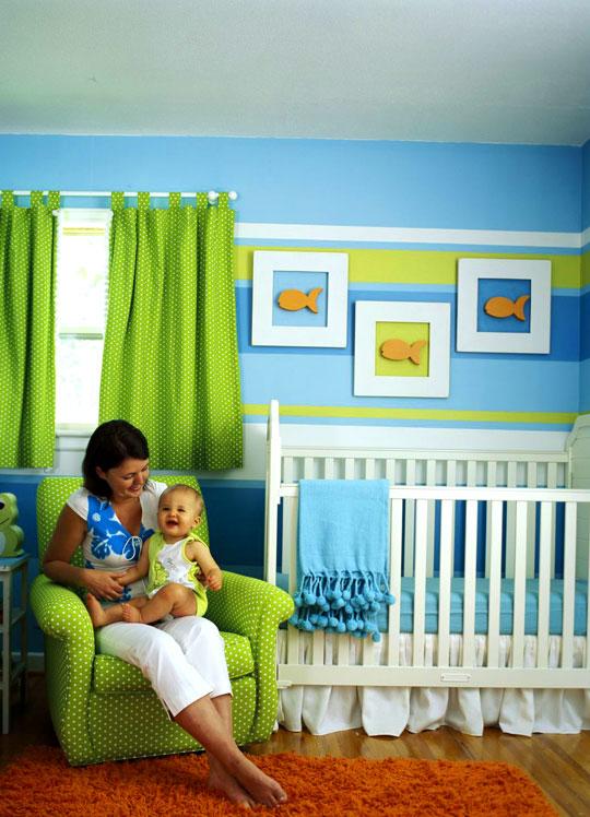 Excelentes ideas para el cuarto de los ni os casa haus - Habitaciones pintadas para ninos ...