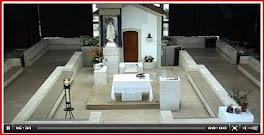 A Capelinha das Aparições <br>em directo<br><i>(clicar na imagem)</i>