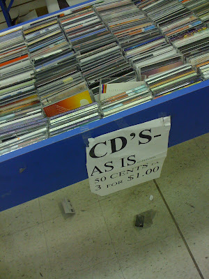 CD bin @ Record Express
