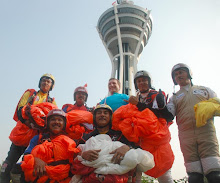 Our base jump team