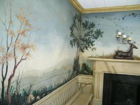 My notting hill a reader 39 s home treasure of landscape for Cost of mural painting