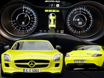 Mercedes-Benz Super Sports Car Concept SLS AMG E-CELL