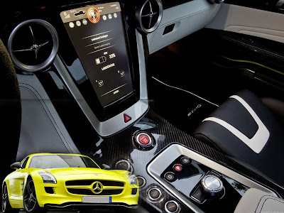 Mercedes-Benz Concept Car - SLS AMG E-CELL 2010