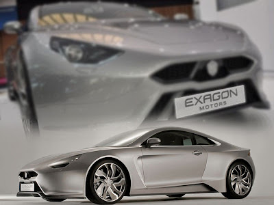 new sports cars 2012. The 2012 Exagon Electric Sport